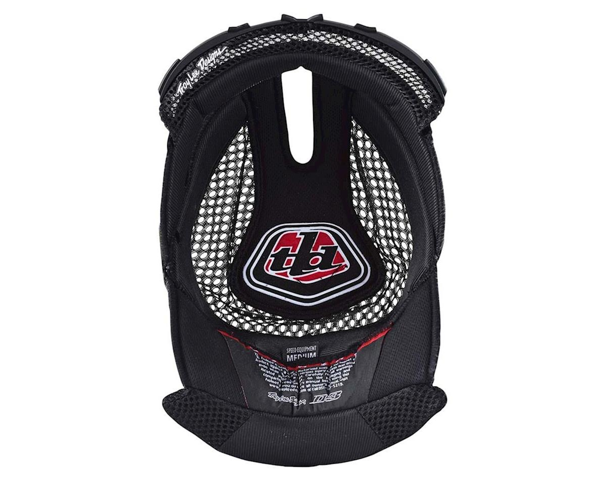 Troy Lee Designs D3 Helmet Headliner (Black) (XL)
