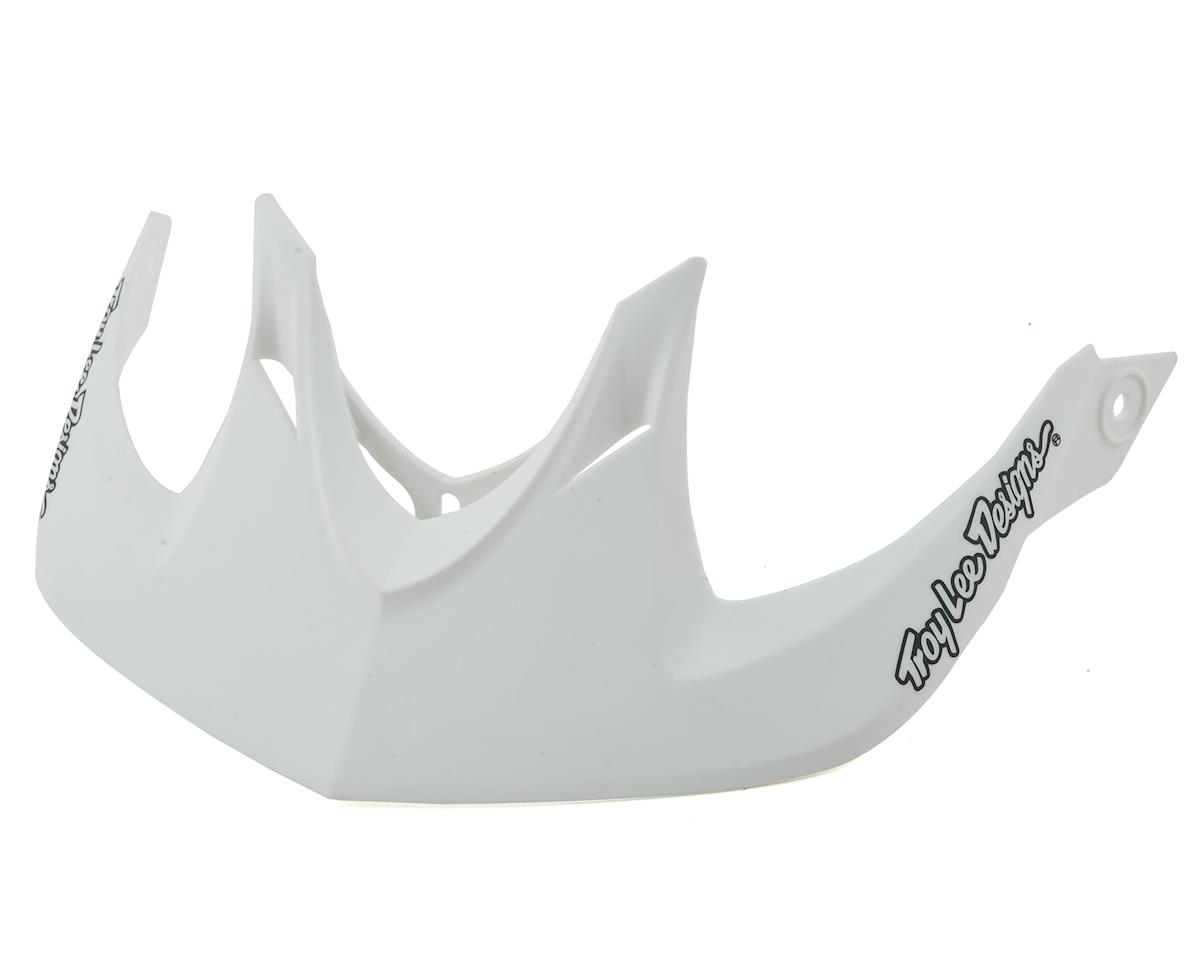 Troy Lee Designs A1 MIPS Visor for Classic (White)