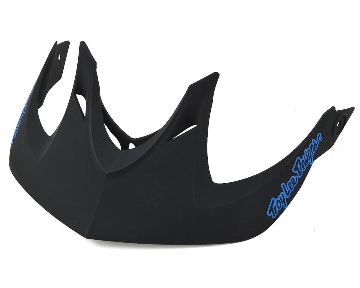 Troy Lee Designs A1 MIPS Visor for Classic (Black/Red)