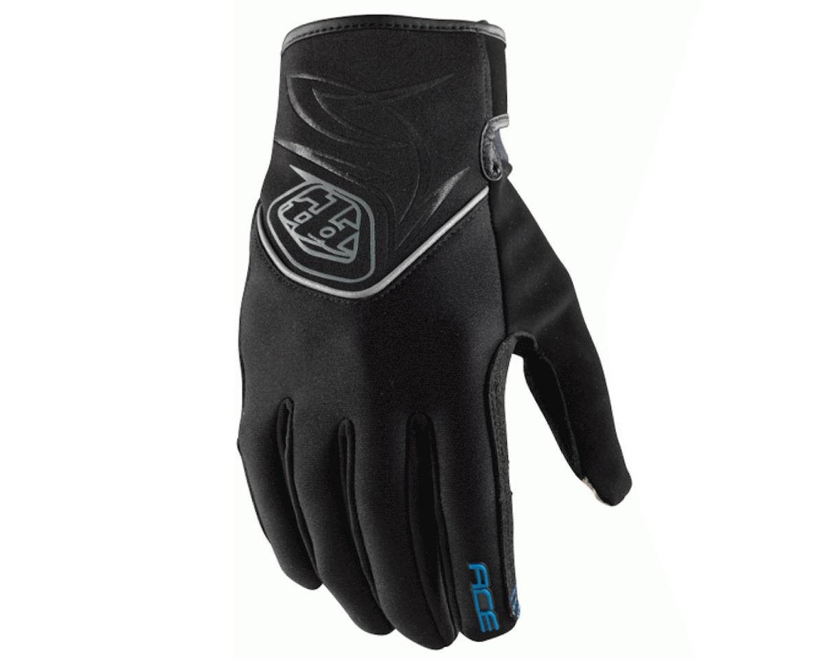 Troy Lee Designs Ace Cold Weather Bike Gloves (Black) (2XL)