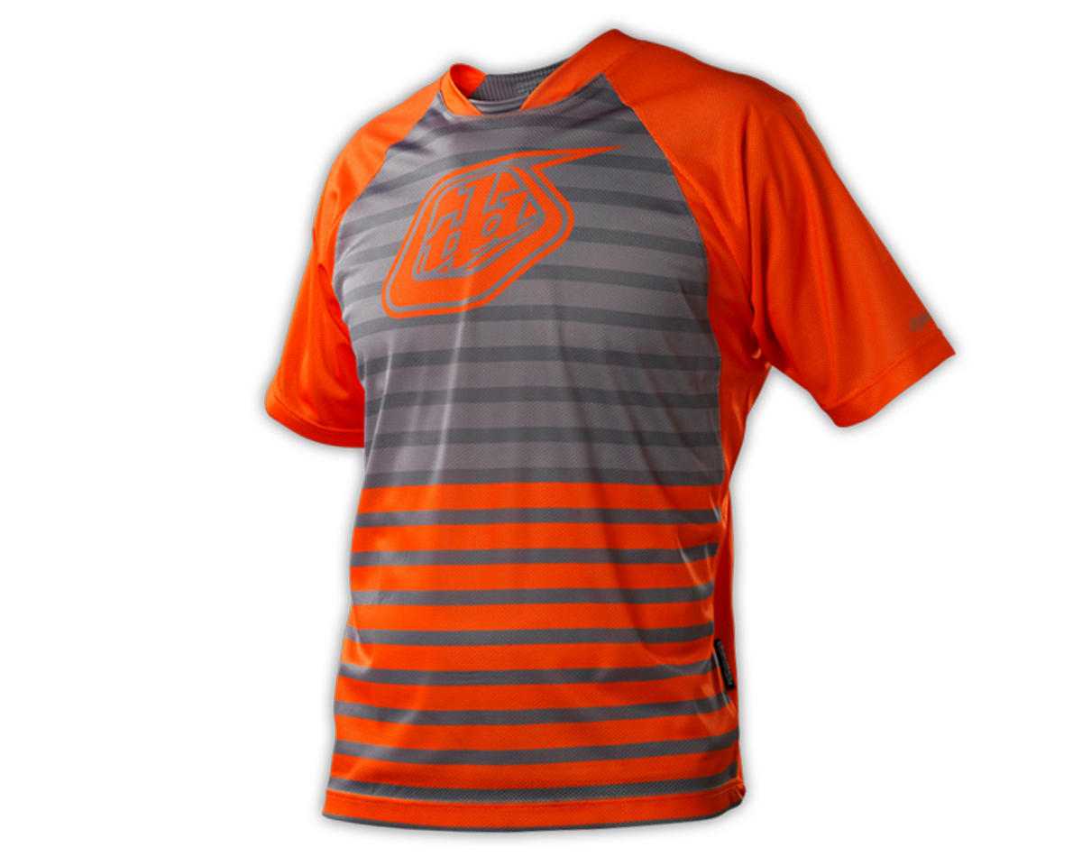 Troy Lee Designs Skyline Cycling Jersey (Horizon Fire Orange)