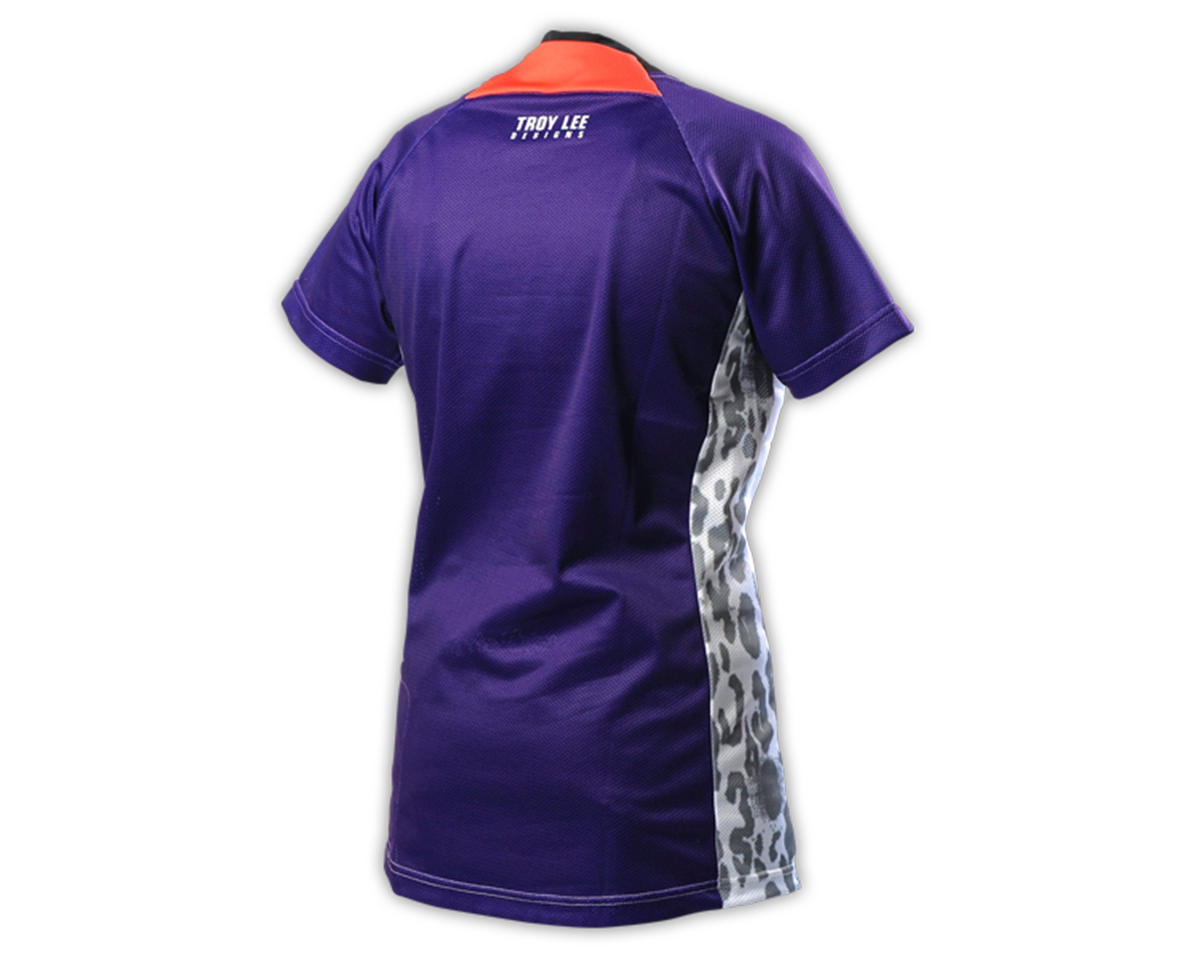 Troy Lee Designs Women's Skyline Cycling Jersey (Speeda Purple) (XL)