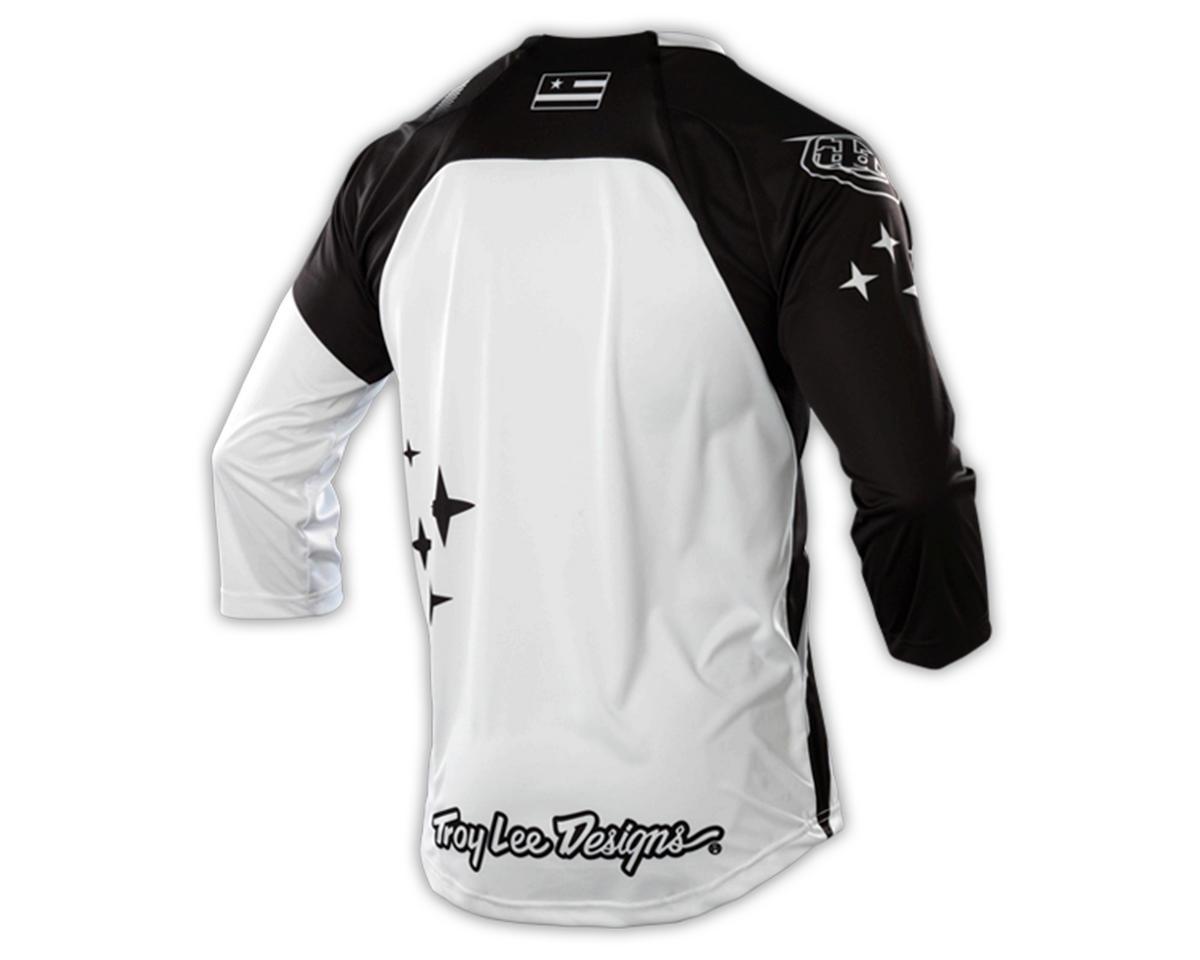 Troy Lee Designs Ruckus Cycling Jersey (Rekon Black/White)