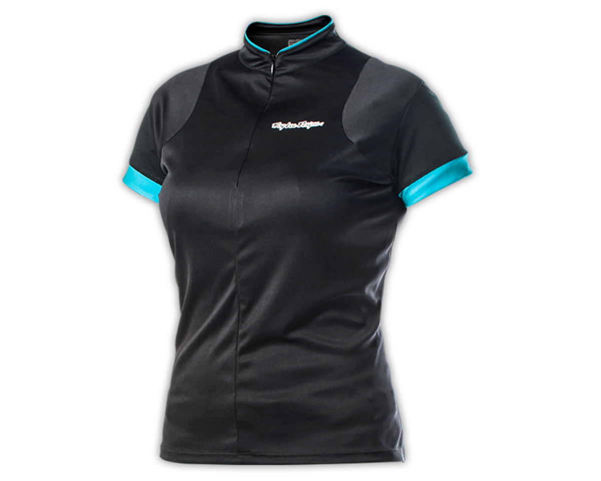 Troy Lee Designs Women's Ace Cycling Jersey (Black) (XL)