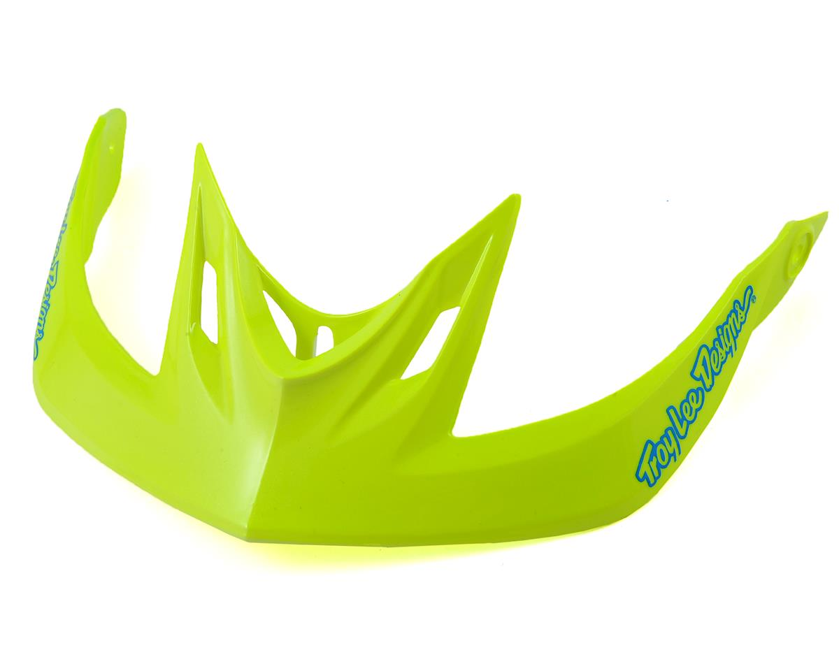 Troy Lee Designs A2 Helmet Visor for Decoy (Cyan/Yellow)