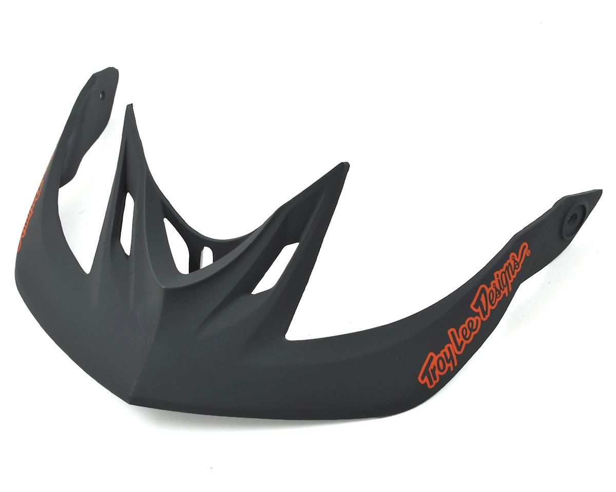 Troy Lee Designs A2 Helmet Visor for Decoy (Orange/Grey)