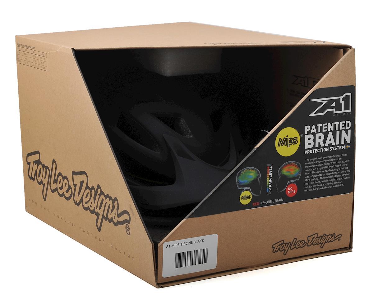 Troy Lee Designs A1 MIPS MTB Helmet (Drone Black)