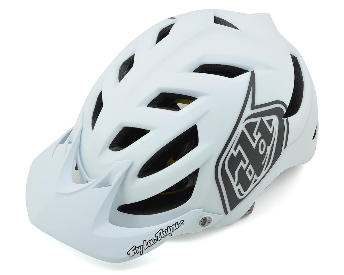 Troy Lee Designs A1 MIPS Classic Helmet (White)
