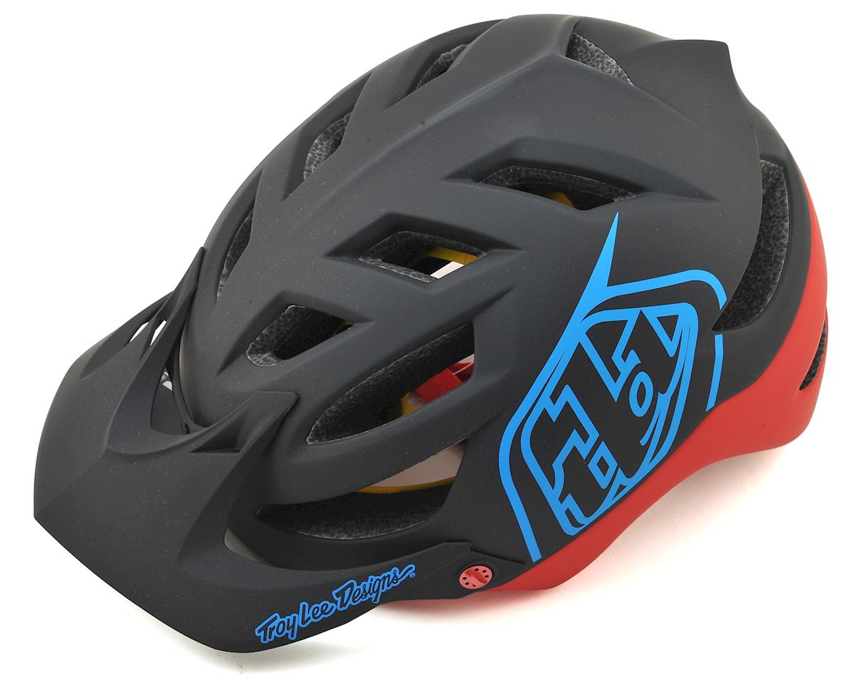 Troy Lee Designs A1 MIPS Helmet (Classic Black/Red)
