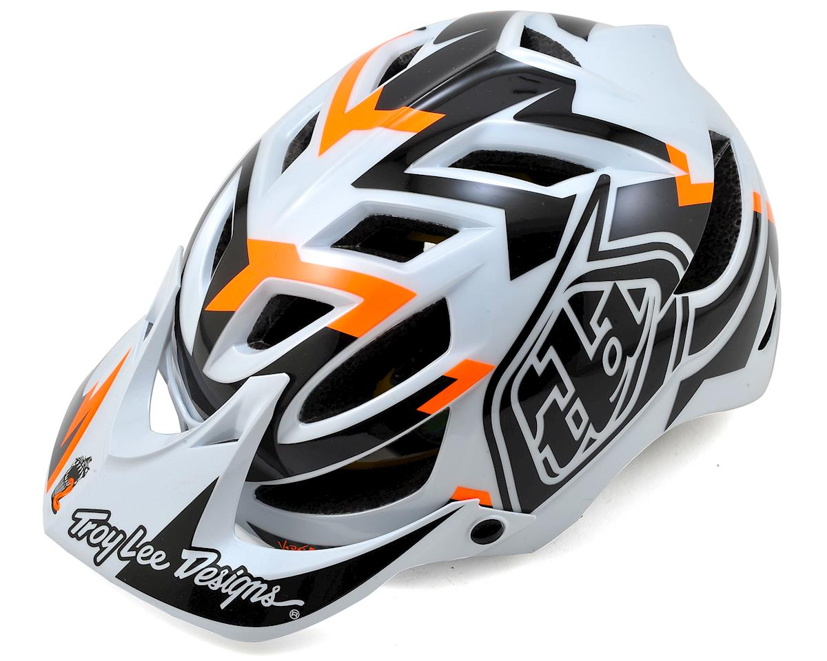 Troy Lee Designs A1 MIPS MTB Helmet (Vertigo White) (M/L)