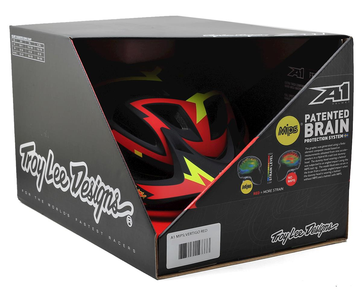 Troy Lee Designs A1 MIPS MTB Helmet (Vertigo Red) (XS/S)
