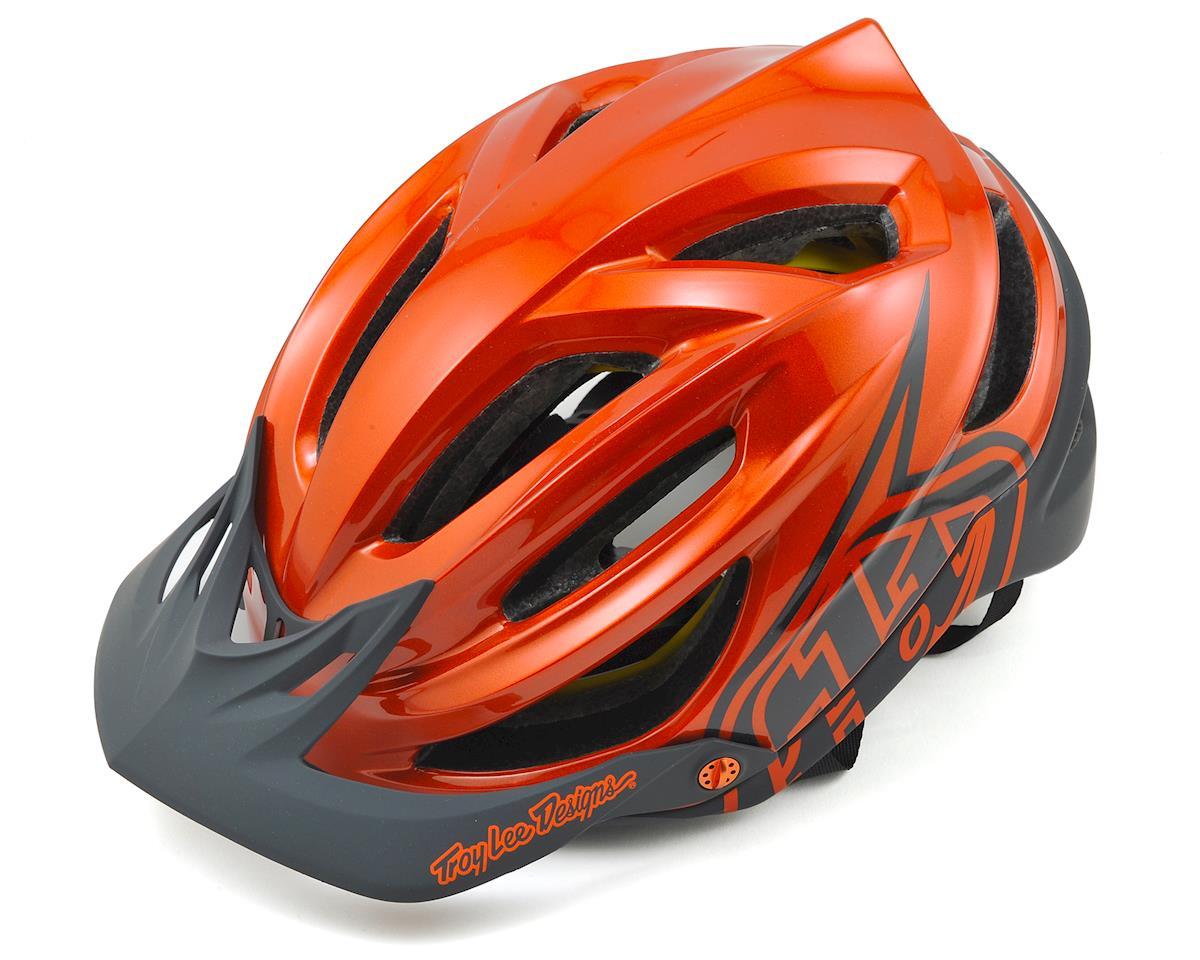 Troy Lee Designs A2 MIPS Decoy Helmet (Orange) (XL/XXL)