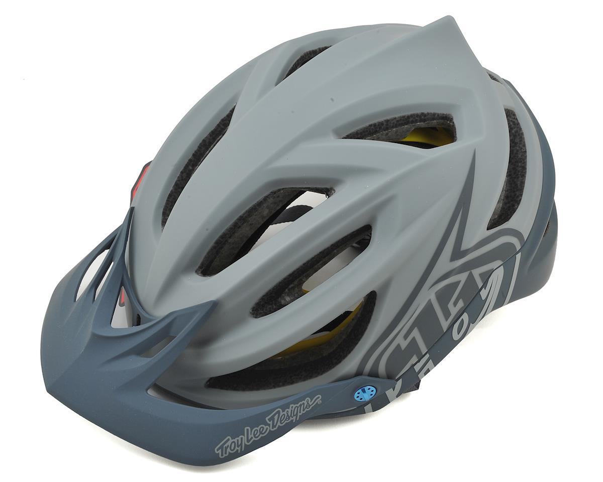Troy Lee Designs A2 MIPS Helmet (Decoy Grey/Navy)