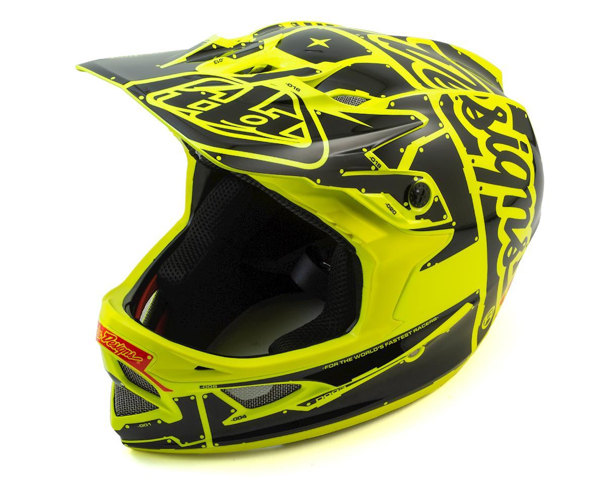 D3 Fiberlite Full Face Helmet (Flo Yellow)
