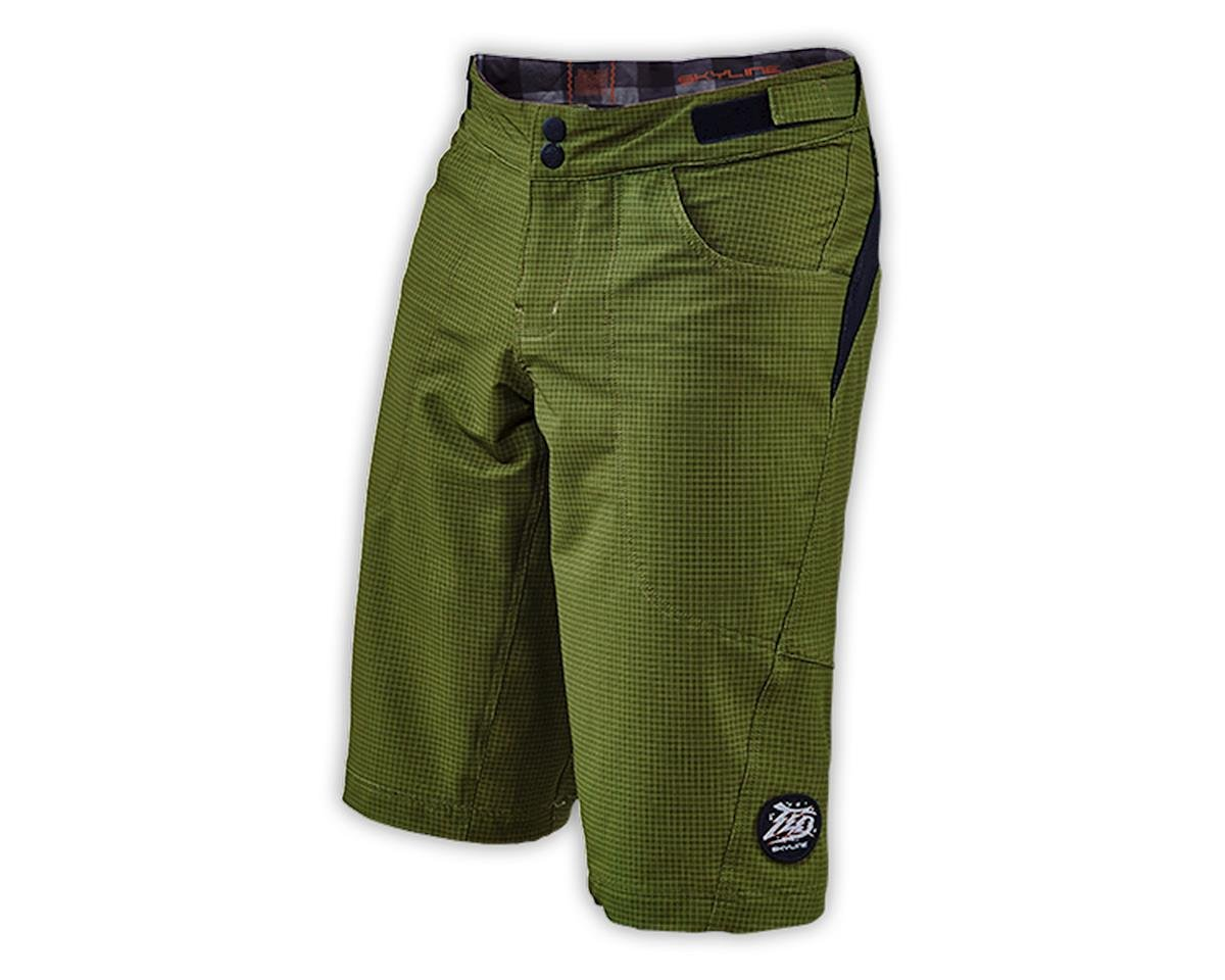 Troy Lee Designs Skyline Shorts (Ripstop Army Green) (30)
