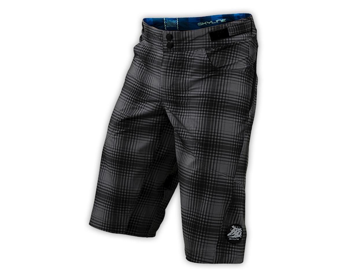 Troy Lee Designs Skyline Shorts (Plaid Gray) (36)