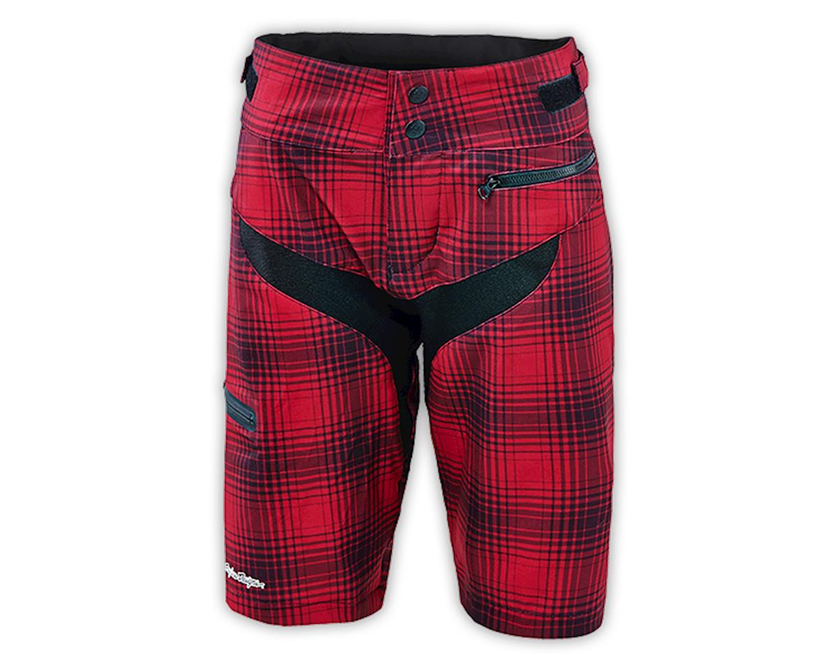Troy Lee Designs Women's Skyline Shorts (Plaid Maroon) (S)