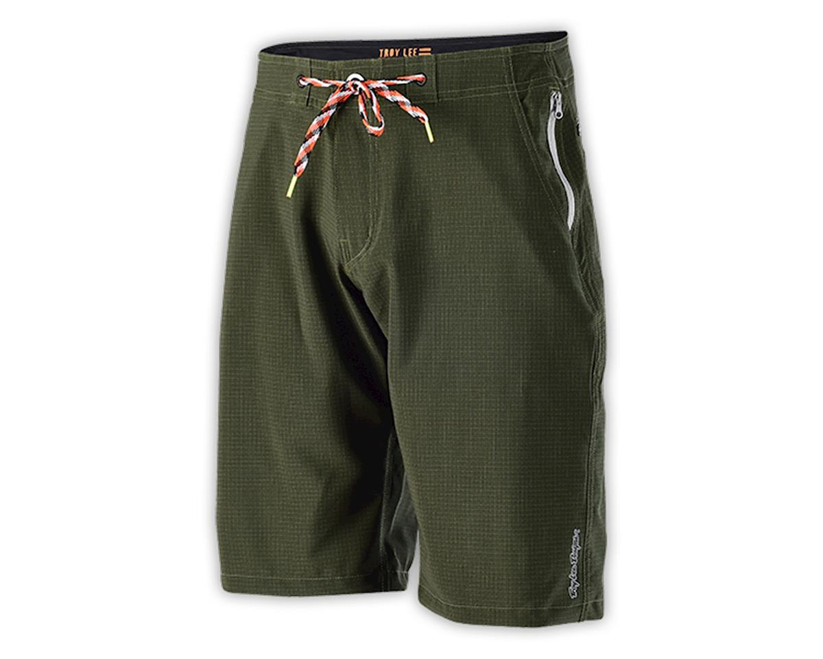 Troy Lee Designs Connect Shorts (Ripstop Army Green) (28)