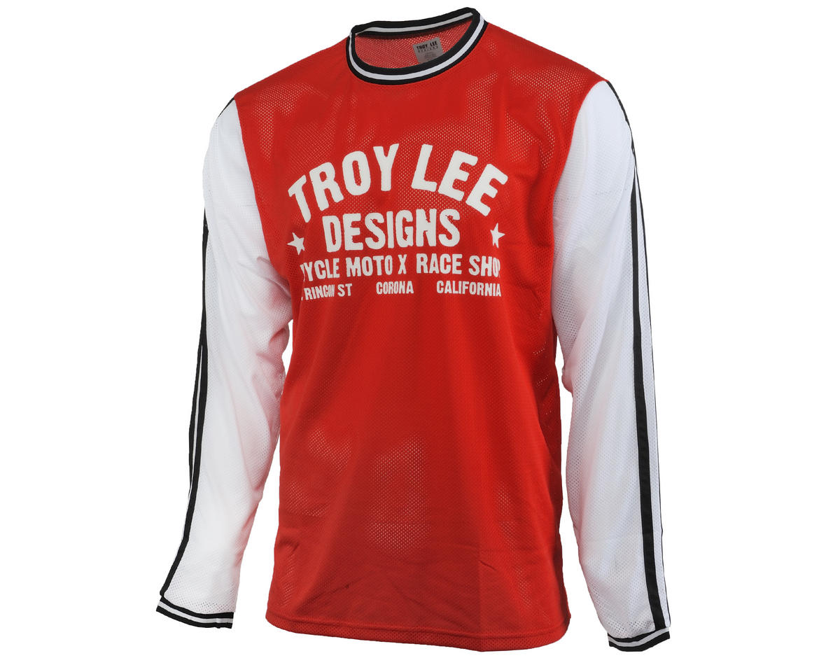 Troy Lee Designs Super Retro Cycling Jersey (Red)