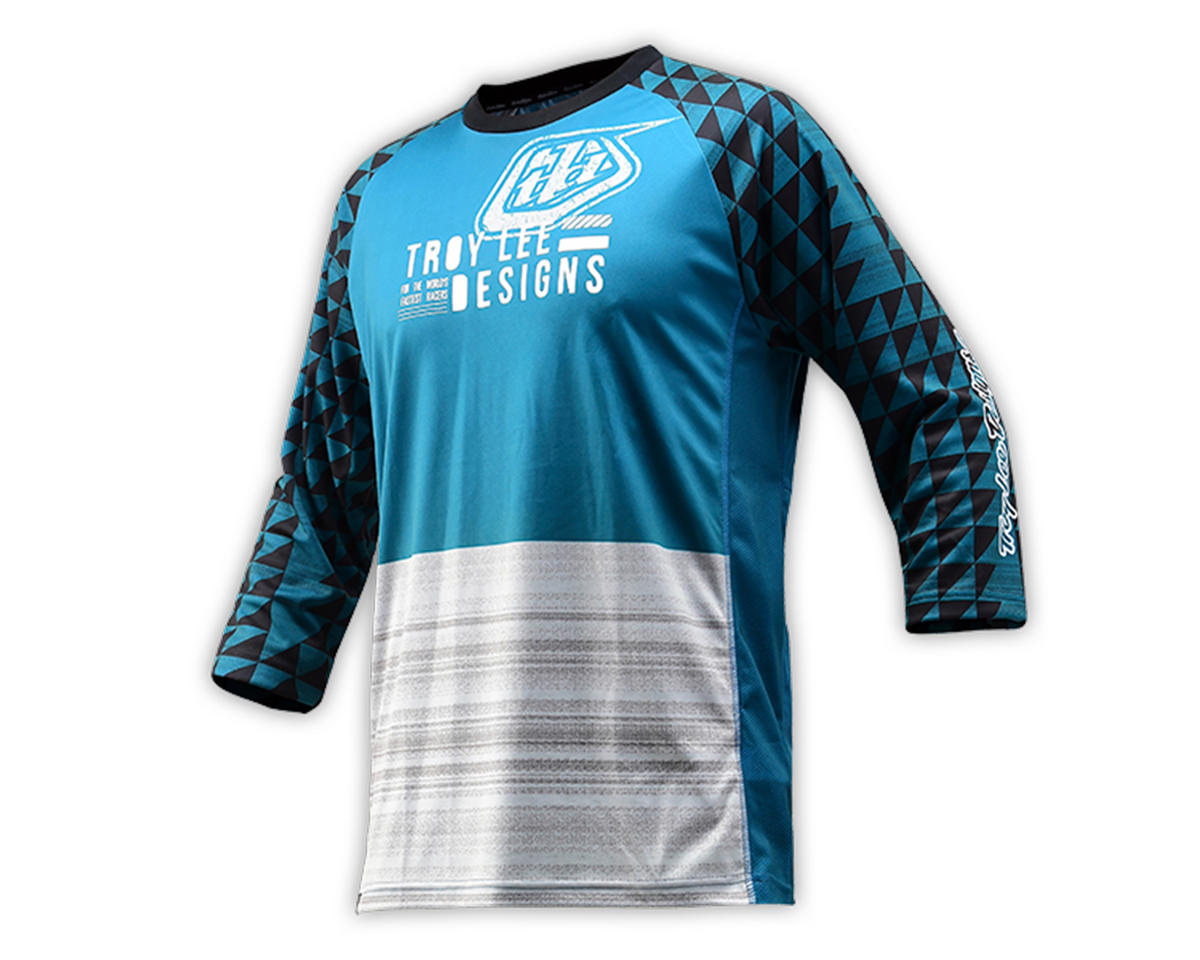 Troy Lee Designs Ruckus Jersey (Formation Dirty Blue) (L)