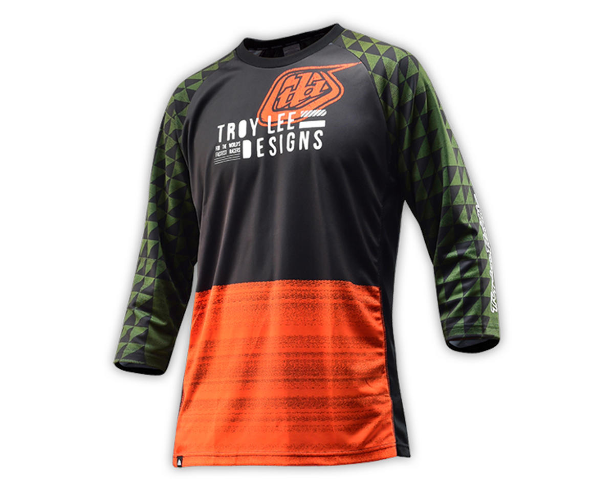 Troy Lee Designs Ruckus Jersey (Formation Army Green) (XL)