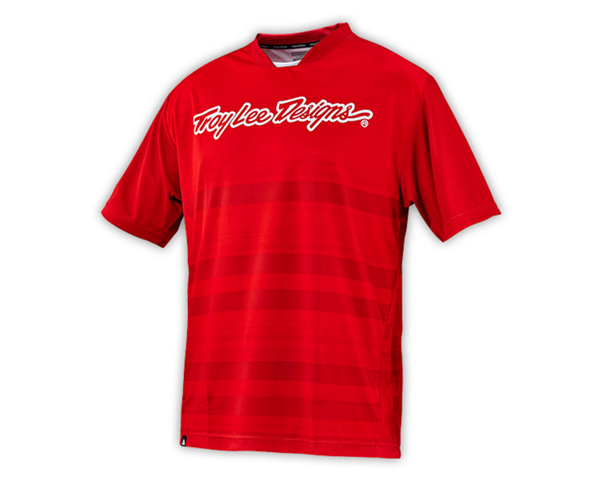 Troy Lee Designs Skyline Jersey (Divided Fire Red) (S)