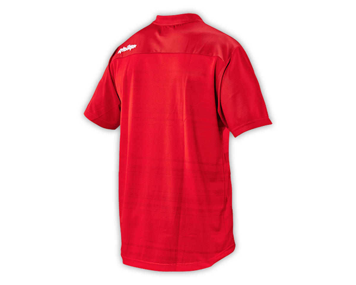 Troy Lee Designs Skyline Jersey (Divided Fire Red) (L)