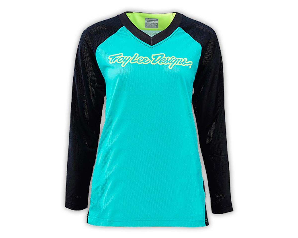 Troy Lee Designs Women's Moto Jersey (Turquoise) (L)