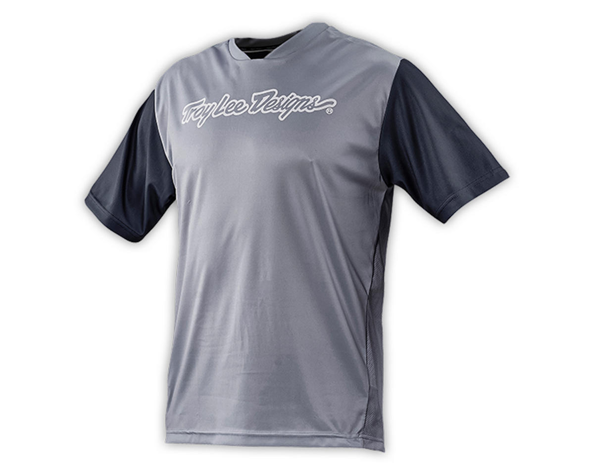 Troy Lee Designs Youth Skyline Jersey (Gray) (L)