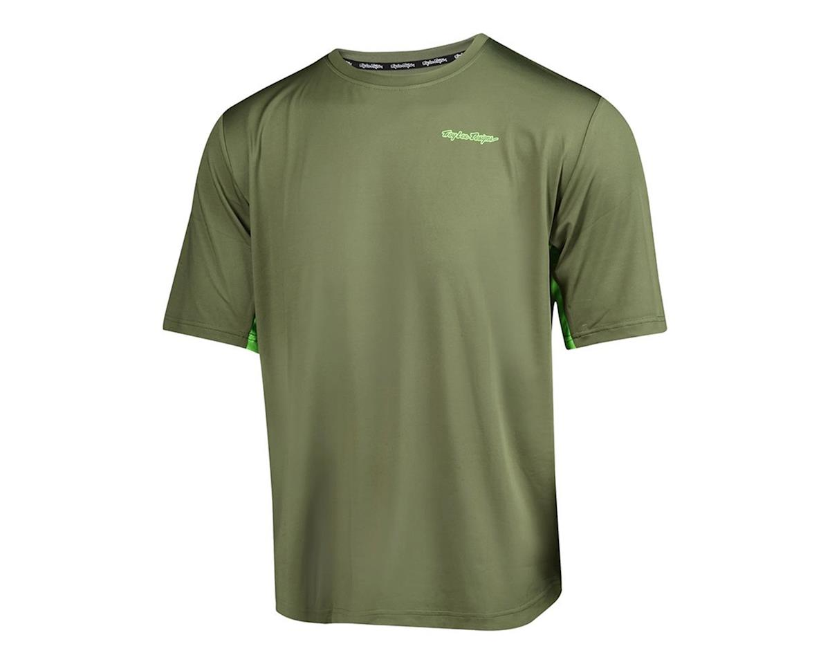 Troy Lee Designs Compound Short Sleeve Jersey (Green)