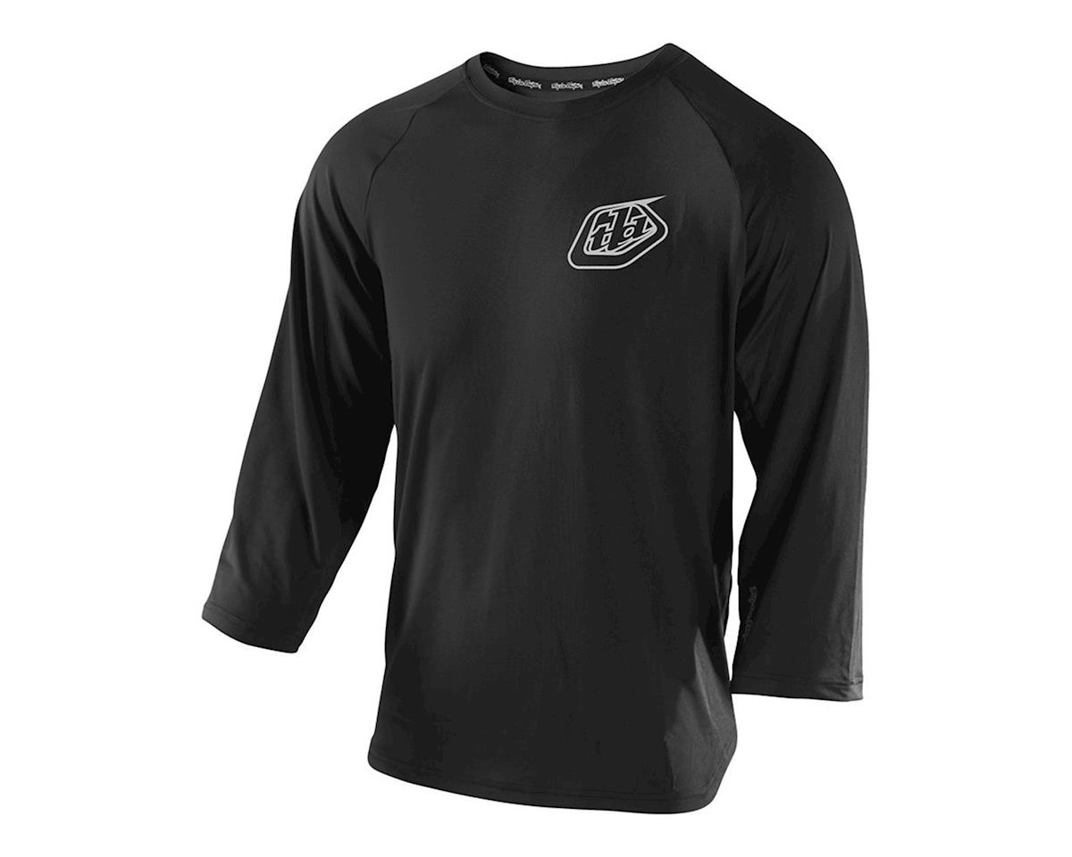 Troy Lee Designs Compound 3/4 Sleeve Jersey (Black)