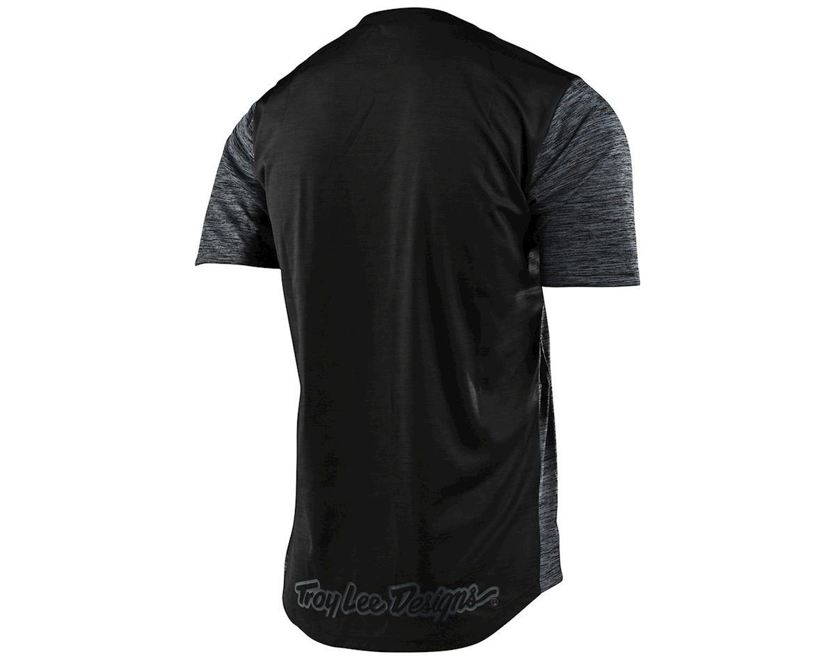Image 2 for Troy Lee Designs Flowline Short Sleeve Jersey (Heather Black/Black) (S)