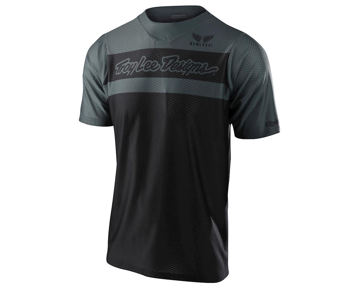 Troy Lee Designs Skyline Air Short Sleeve Jersey (Factory Black/Grey) (L)