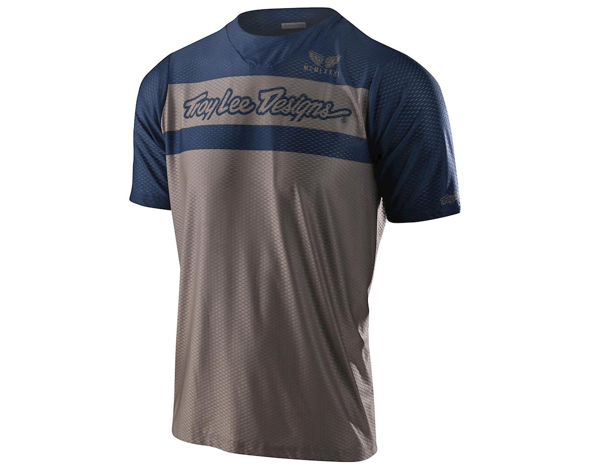 Troy Lee Designs Skyline Air Short Sleeve Jersey (Factory Walnut/Navy) (L)