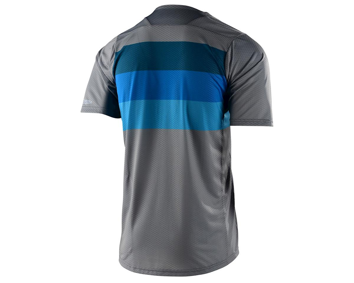 Image 2 for Troy Lee Designs Skyline Air Short Sleeve Jersey (Continental Grey/Blue) (S)