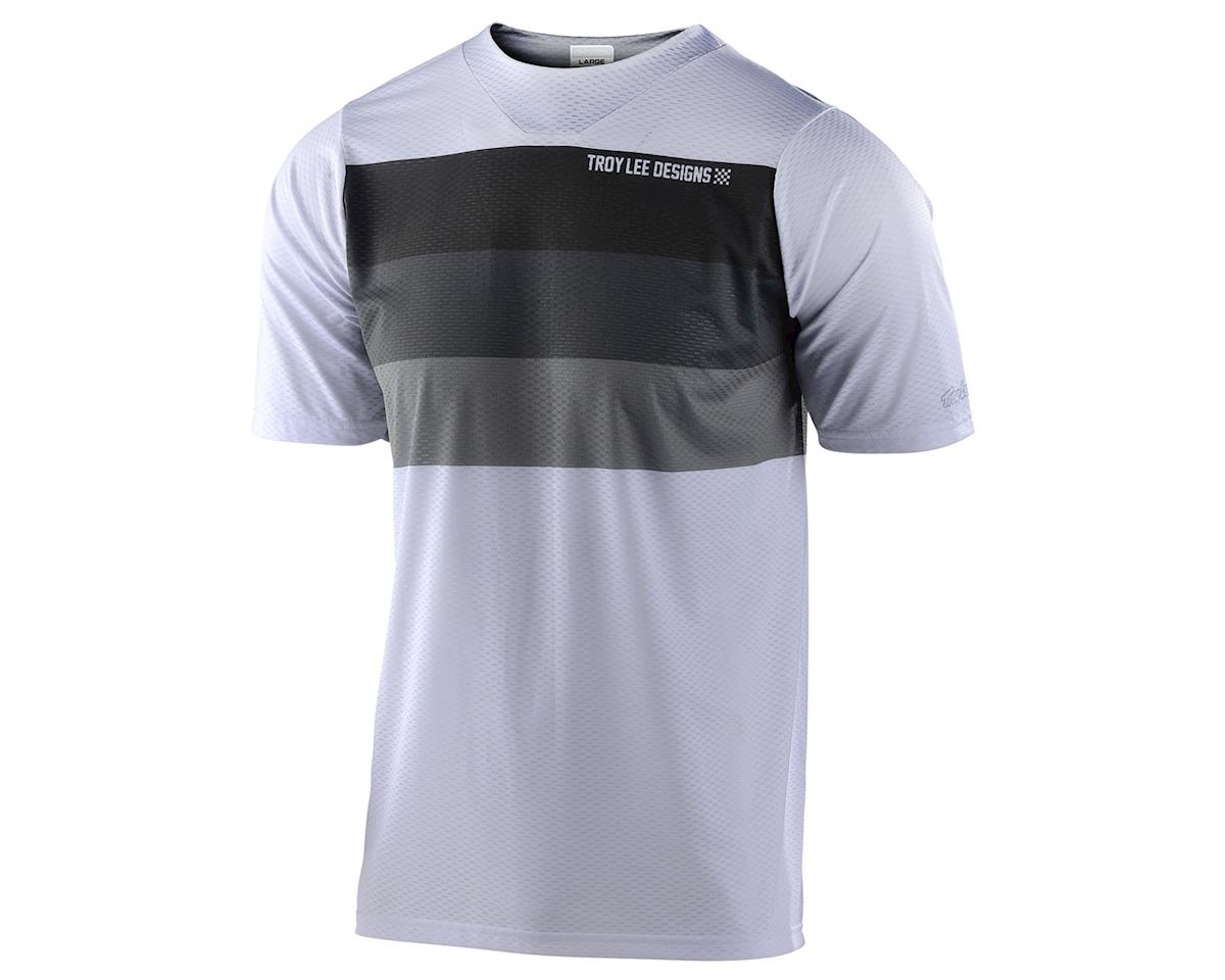 Troy Lee Designs Skyline Air Short Sleeve Jersey (Continental White/Grey) (L)