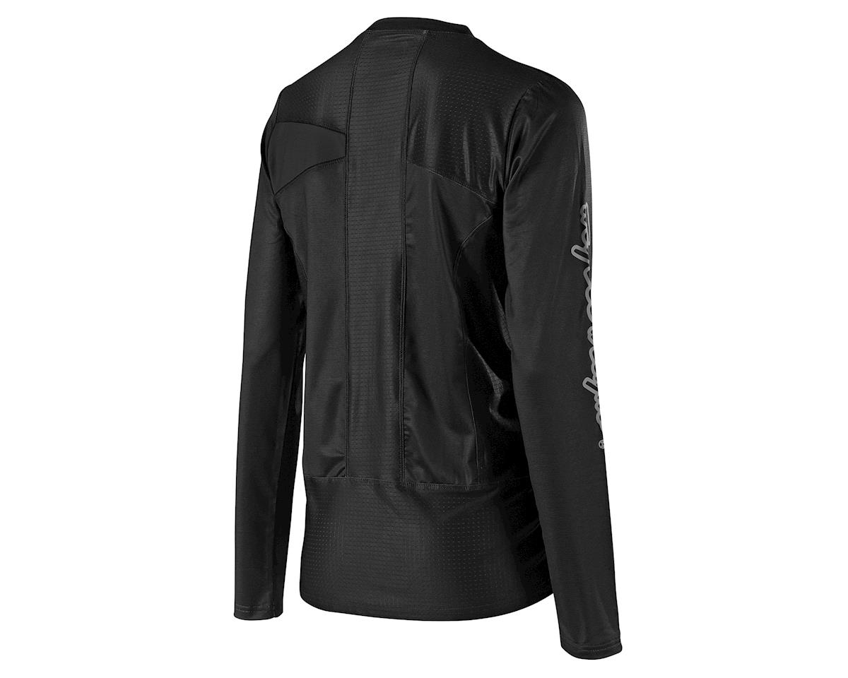 Troy Lee Designs Women's Skyline Long Sleeve Jersey (Black) (L)