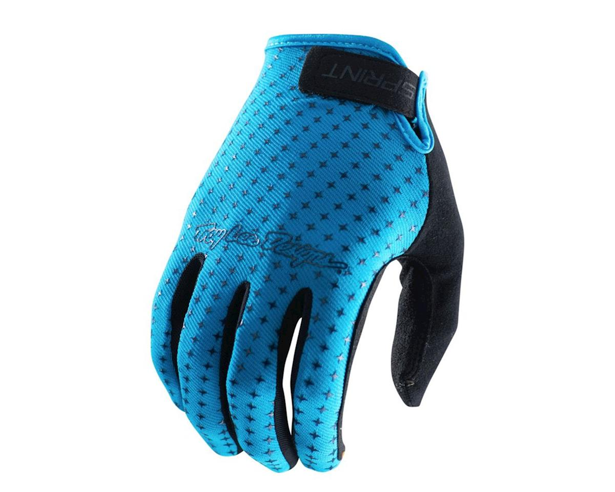 Troy Lee Designs Sprint Glove (Cyan) (S)