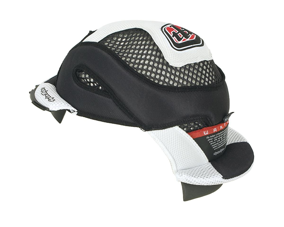 Troy Lee Designs Helmet D3 Headliner (White) (2XL)