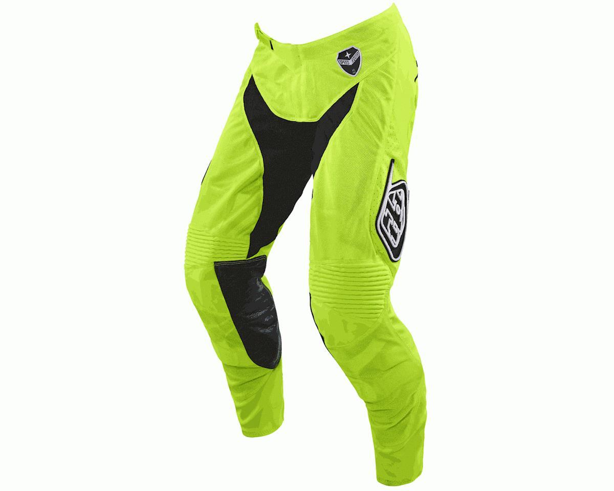 Troy Lee Designs 2016 SE Air Starburst Pants (Flo Yellow/Black)