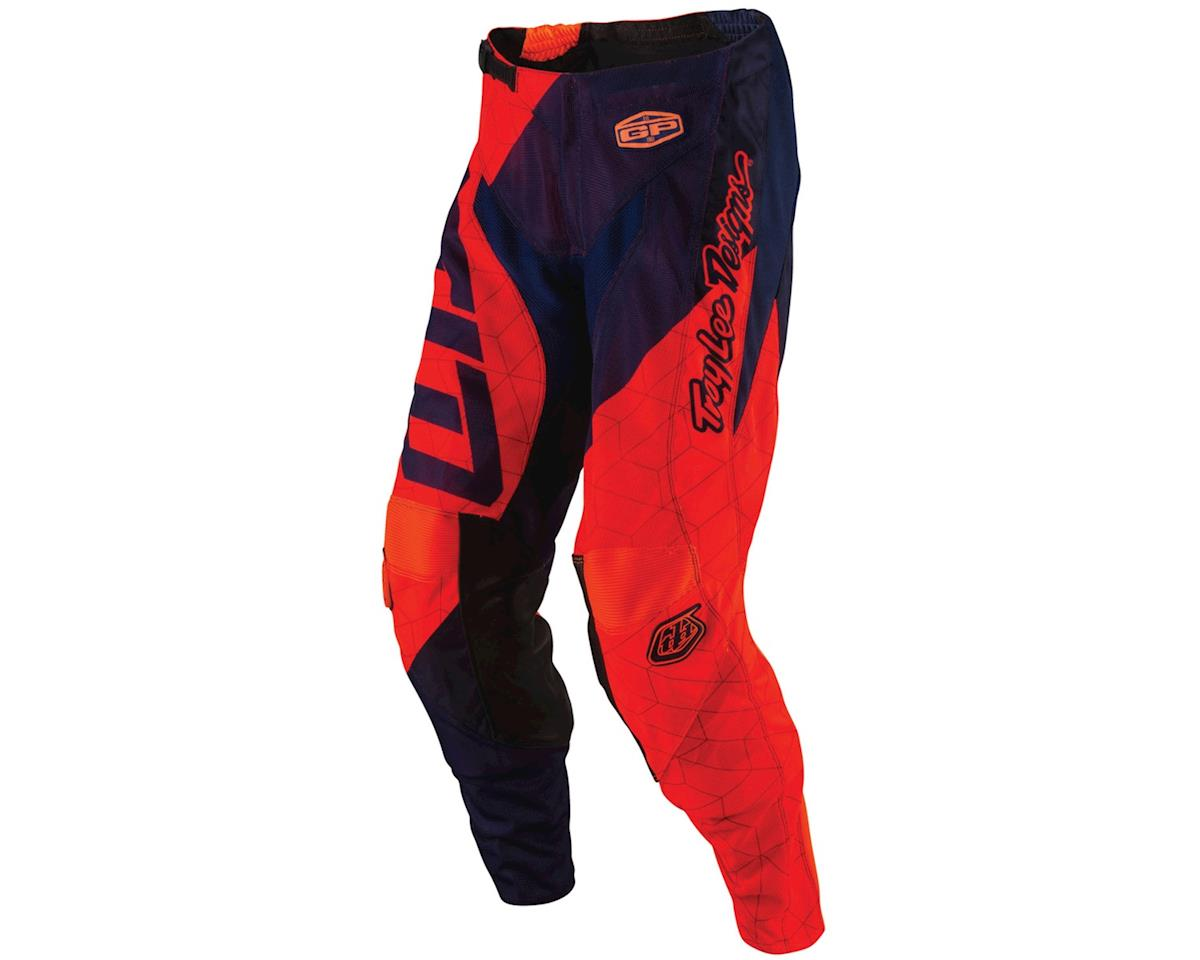 Troy Lee Designs 2017 GP Quest Youth Pants (Flo Orange/Navy)