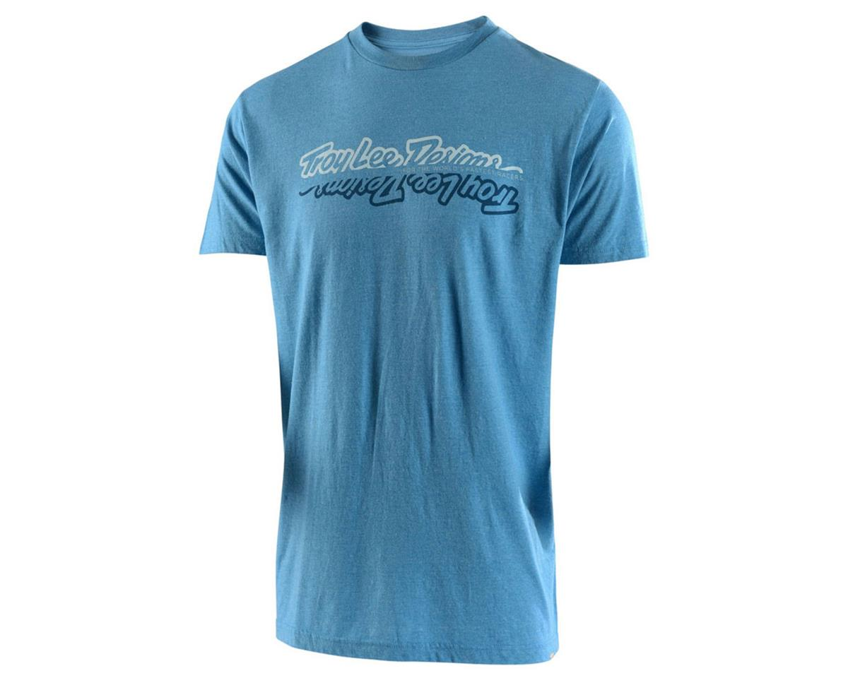 Troy Lee Designs All Time Tee (Sky Blue Heather) (M)