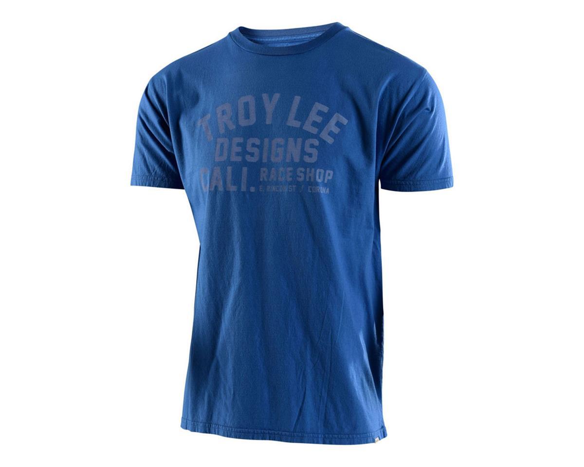 Troy Lee Designs Podium Tee (Slate Blue) (L)