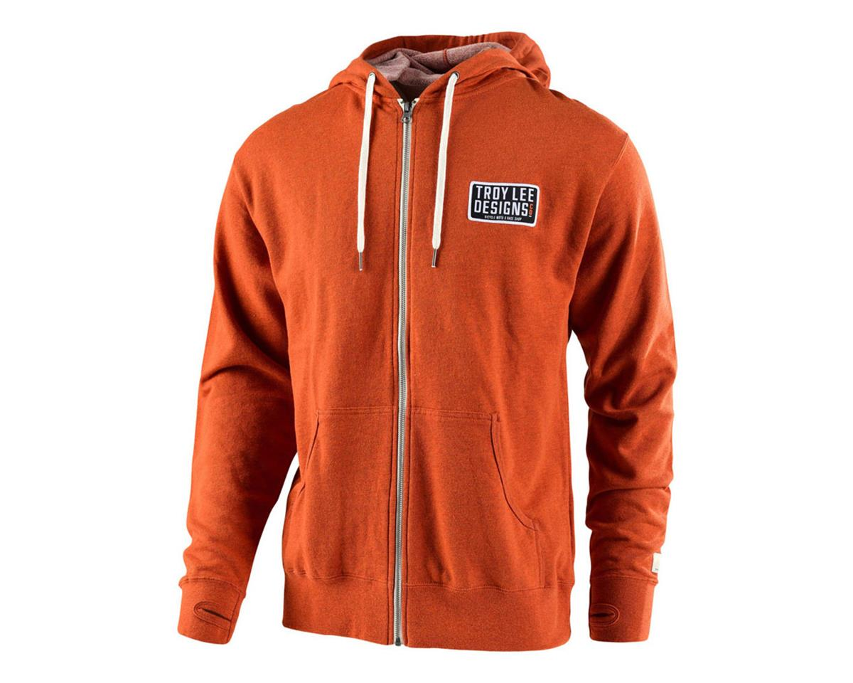 Troy Lee Designs Taken Zip-Up Hoodie (Burnt Orange Heather)
