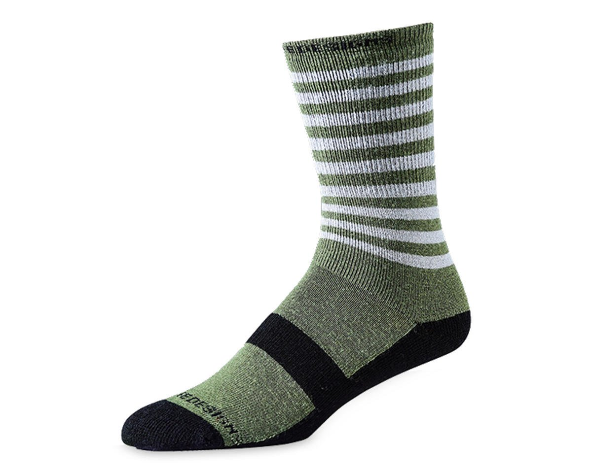 Troy Lee Designs Camber Wool Sock (Divided Army Green)