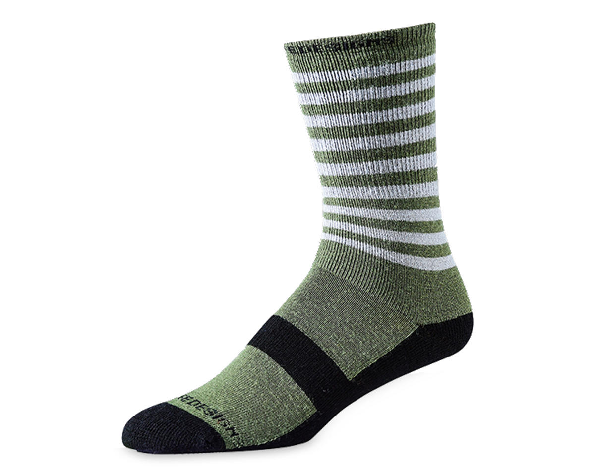 Troy Lee Designs Camber Wool Sock (Divided Army Green) (L/XL)