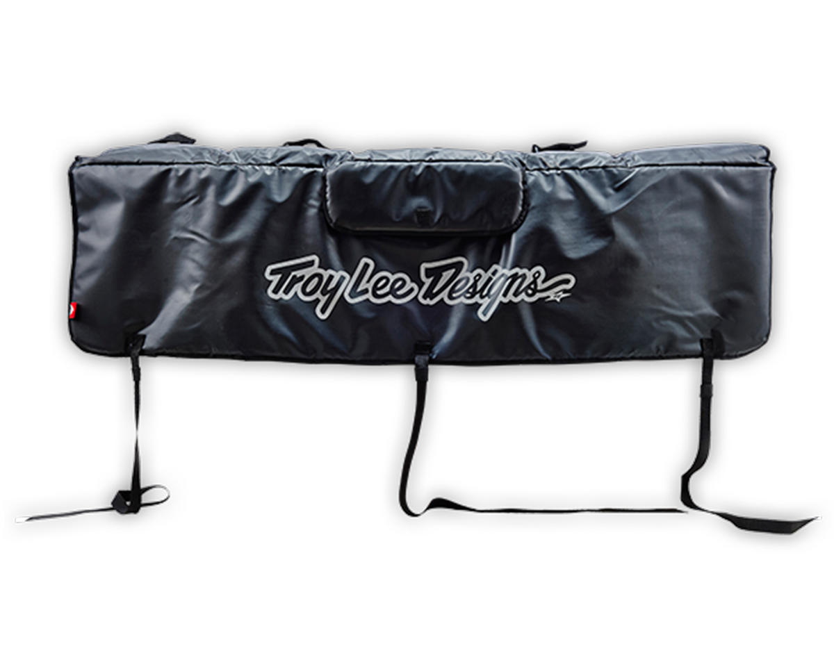 Troy Lee Designs Tailgate Cover (Signature Black) (S)
