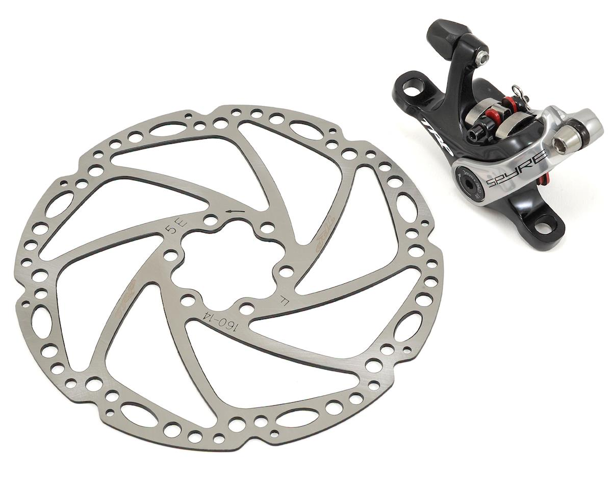 TRP Spyre Alloy Mechanical Disc Brake (Front) (160mm Rotor) (Black)