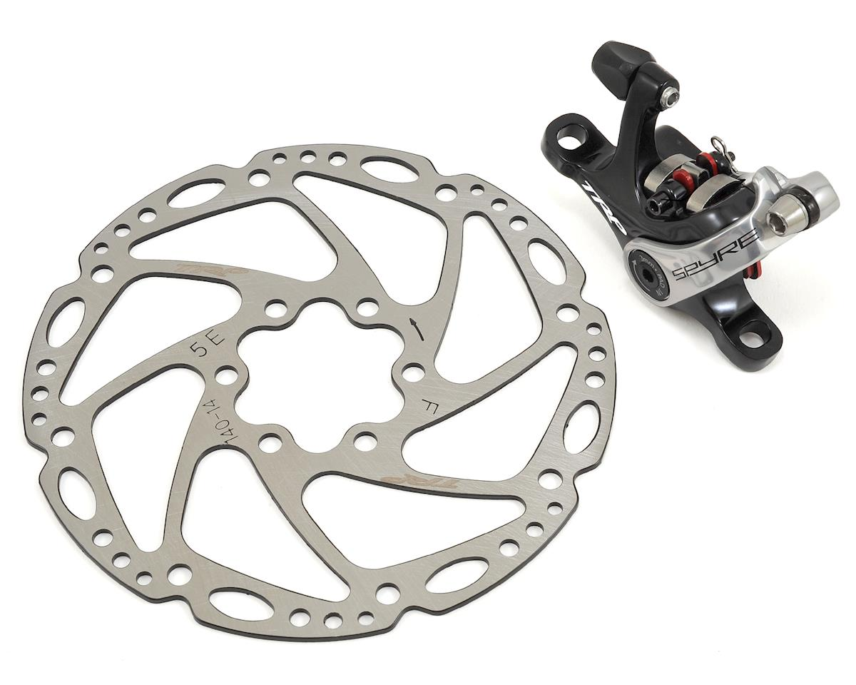 Spyre Alloy Mechanical Disc Brake (Rear) (140mm Rotor) (Black)