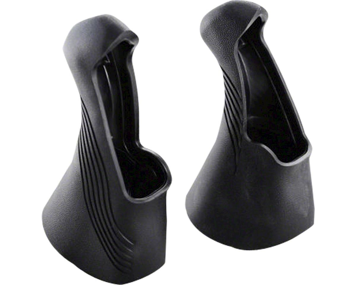 TRP Replacement Hoods for RRL Levers, Black, Pair